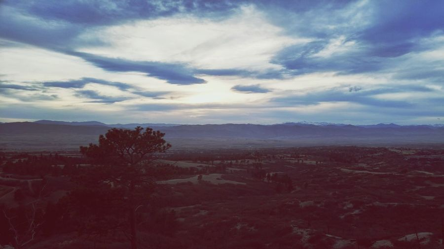 Sunset Cloud - Sky Landscape No People Beauty In Nature Outdoors Sky Nature Tranquility Colorado First Eyeem Photo Lost In The Landscape