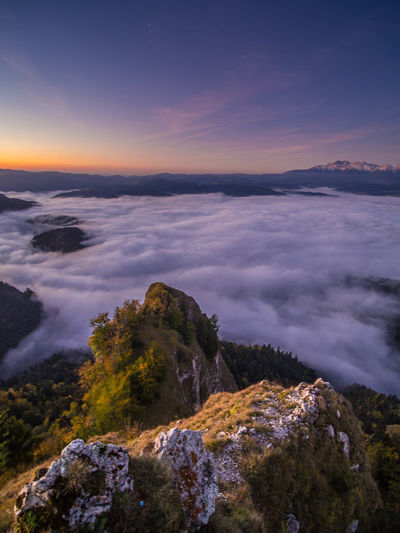 Mountain View Pieniny Poland Tatra Mountains Tatry Beauty In Nature Cloud - Sky Environment Idyllic Land Mountain Nature No People Outdoors Pieniny Rock Rock - Object Scenics - Nature Sea Sky Solid Sunrise Sunset Tranquil Scene Tranquility Water