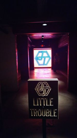 Little Trouble Little Trouble In Little China Nightlife Atlanta Bar Single Mami Single Mami Diaries Fun Times Midtown Neon Lights Doorway Entrance