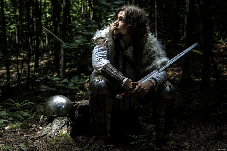 #forest #helmet #History #model #photo #photography #photography #photo #photos #pic #pics #TagsForLikes #picture #pictures #snapshot #art #beautiful #instagood #picoftheday #photooftheday #color #all_shots #exposure #composition #focus #capture #moment #reconstitution #sword #warrior Nature Tree WoodLand