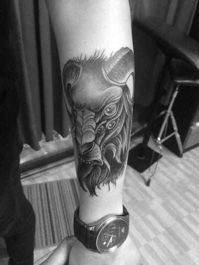 Inprogress Tattooblackwork Ongtattooist Tattoo15k 15kfamily Bangsaen15ktattoo Chonduri Thailand