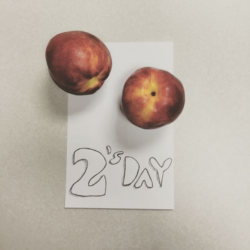 Doodles from my desk Tuesday Fruits Nectarines
