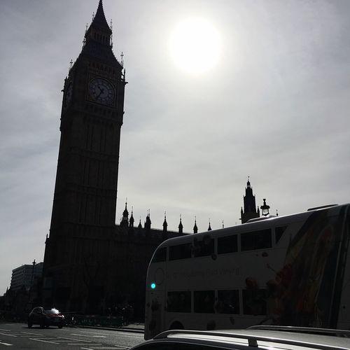 Big Ben Taking