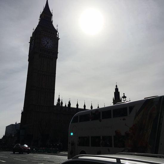 Big Ben Taking Photos Walking Around London