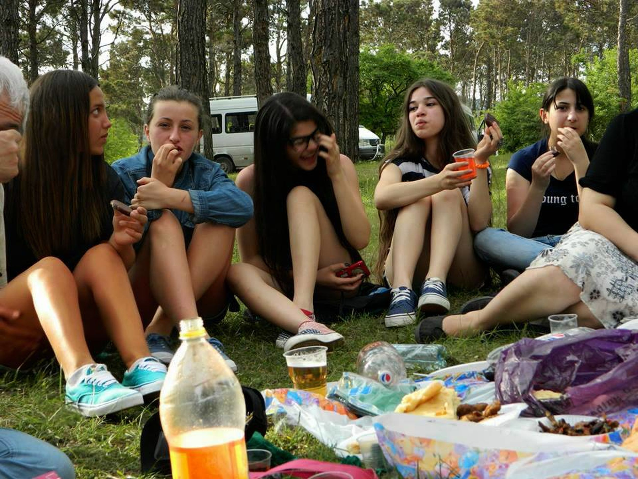 togetherness, lifestyles, bonding, leisure activity, friendship, young adult, person, casual clothing, happiness, smiling, love, young women, sitting, portrait, looking at camera, enjoyment, front view