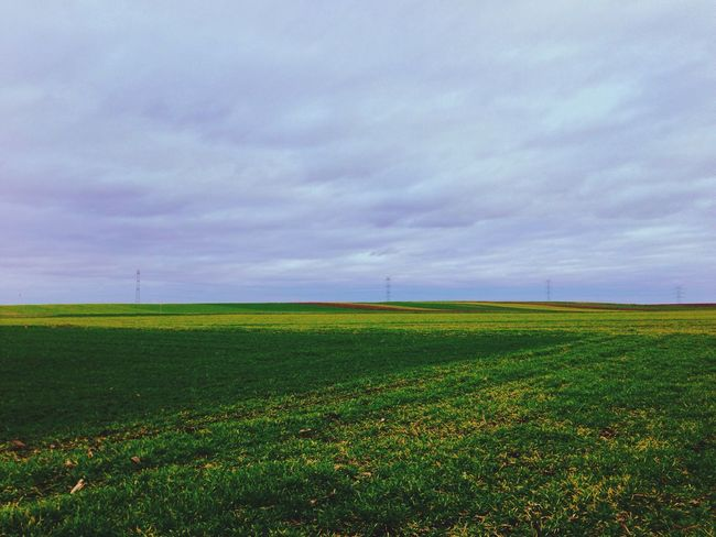 Field Emptiness Sky Collection Landscape_Collection Landscape