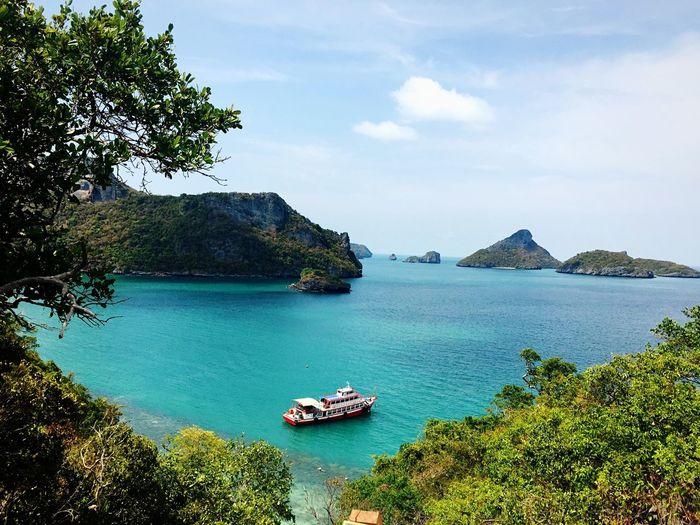 Boat trip Thailand Angthongmarinepark Angthong