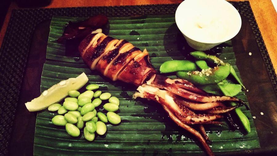 Giant Squid Food