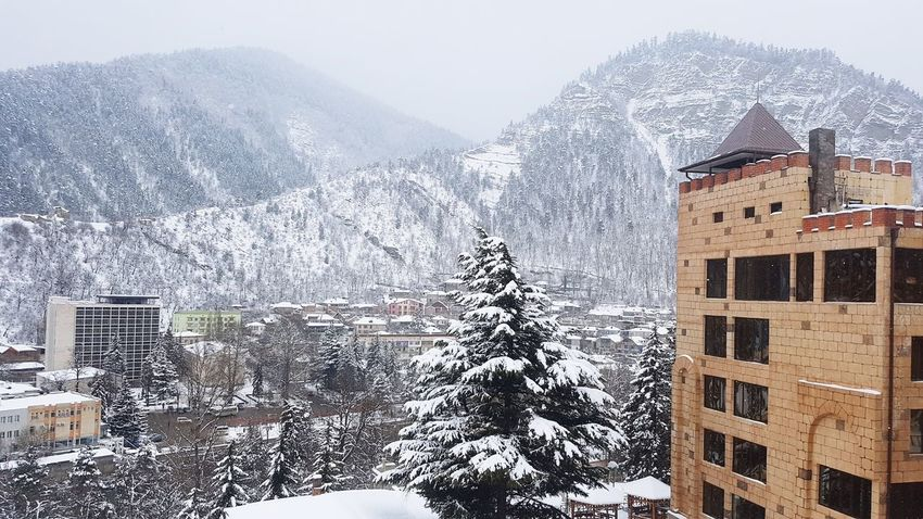 Architecture Building Exterior Travel Frozen Georgia Extreme Weather Beauty In Nature Snowing Environment Cold Temperature Snow Winter Nature