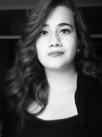 Model Black And White Today :) WavyHair