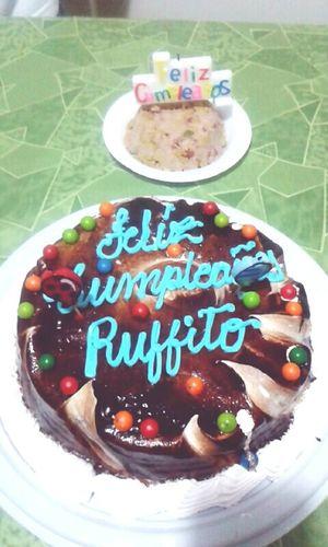 Ruffo's birthday Birthday Cake Happy Birthday!