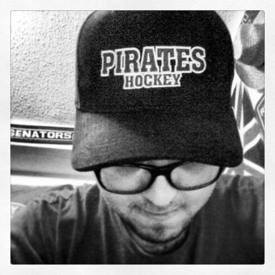 Got a new hat Picton  Pirates Patcheyes Hockey champions pictonpirates schmulzcup hat black