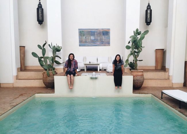 Morocco Marrakech Photo Nature Photography Outdoors Pool Riad Poolside Summer Vacation The Essence Of Summer