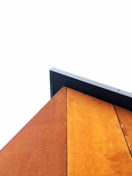 Rusty contrasts Sheet Steel Rusty Steel Looking Architecture Built Structure Building Exterior No People Low Angle View Day Outdoors