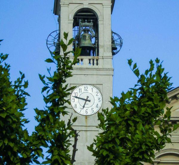 Chiesa Saronno Campanile Effetti Sole