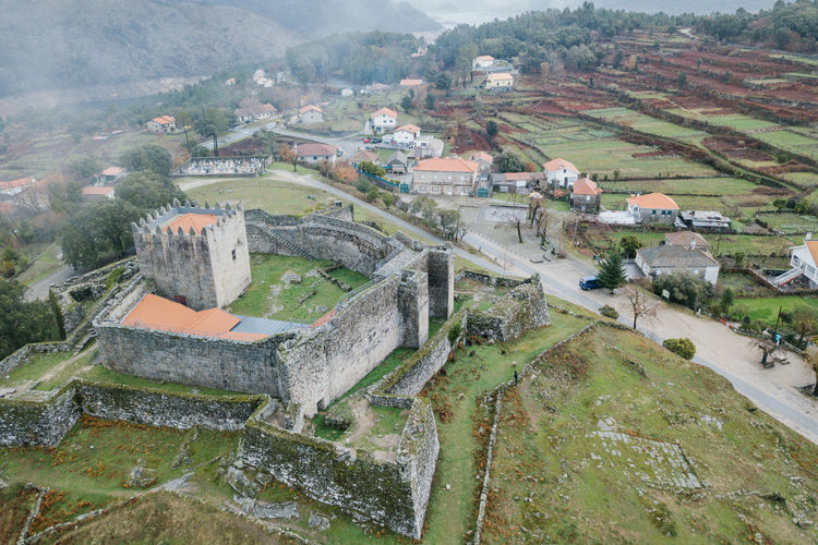 Arcos de Valdevez / Lindoso / Peneda Geres / Ponte da Barca / A Senhora Do Monte Arcos De Valdevez DJI Mavic Pro DJI X Eyeem Drone  Lindoso Peneda-Gerês National Park Aerial Aerial View Agriculture Architecture Beauty In Nature Building Exterior Built Structure Castel Day Dji Dronephotography High Angle View Landscape Nature No People Outdoors Ponte Da Barca Rural Scene Scenics Tranquility Water