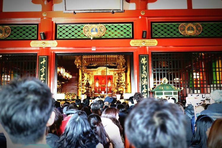Asakusa Sensouji Kaminarimon Tyouchin Temple 和 Winter Tokyo Streetphotography Holiday Stroll Japan Canonphotography Canon Eos M3 EOS Canon Life EyeEm TORII