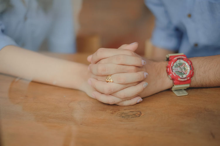 wedding Human Hand Hand Human Body Part Midsection Adult Two People Indoors  Men Table People Ring Togetherness Close-up Couple - Relationship Positive Emotion Love Wedding Wedding Photography