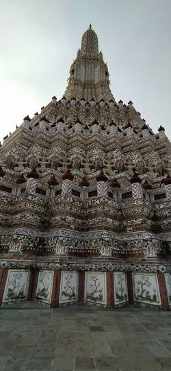 Low angle view of a temple