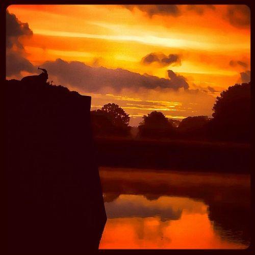 Naarden Vesting Naardenvesting Vestingmuseum bok nature sun sunrise natuur sky water picoftheday igdaily instagram instamood nature naturelove hypstamatic iphonegraphy iphonography mooigooi
