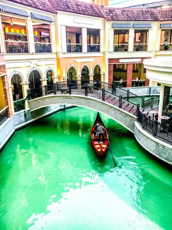 Venice Grand Canal Mall Architecture Canal Built Structure Bridge - Man Made Structure Travel Destinations Gondola - Traditional Boat Outdoors Eyeem Philippines Venice Grand Canal Mall
