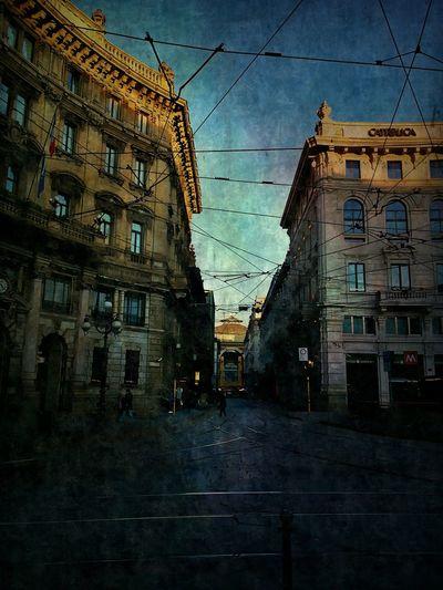 Milano Milan Italy Street Photography Artsy Painterly NEM Painterly Silk Effect Mobile Art