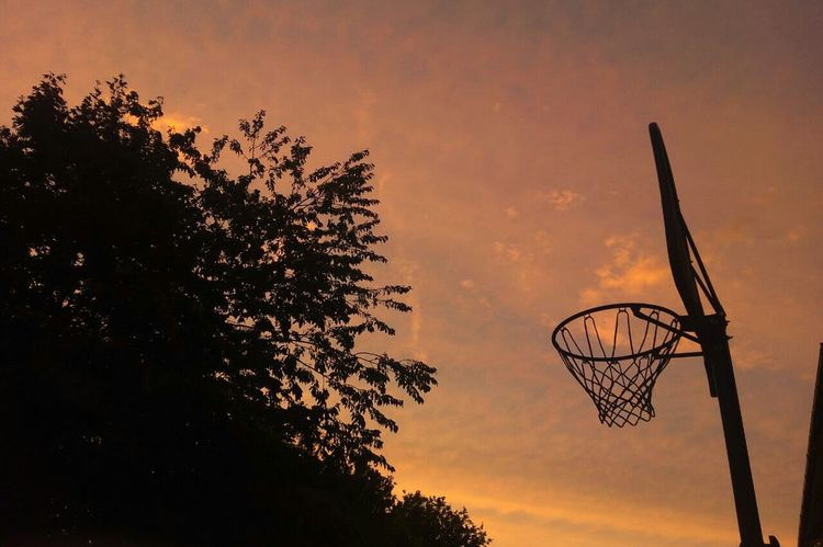 Taking Photos Relaxing England First Eyeem Photo Backlight Basketball Clouds And Sky Enjoying Life