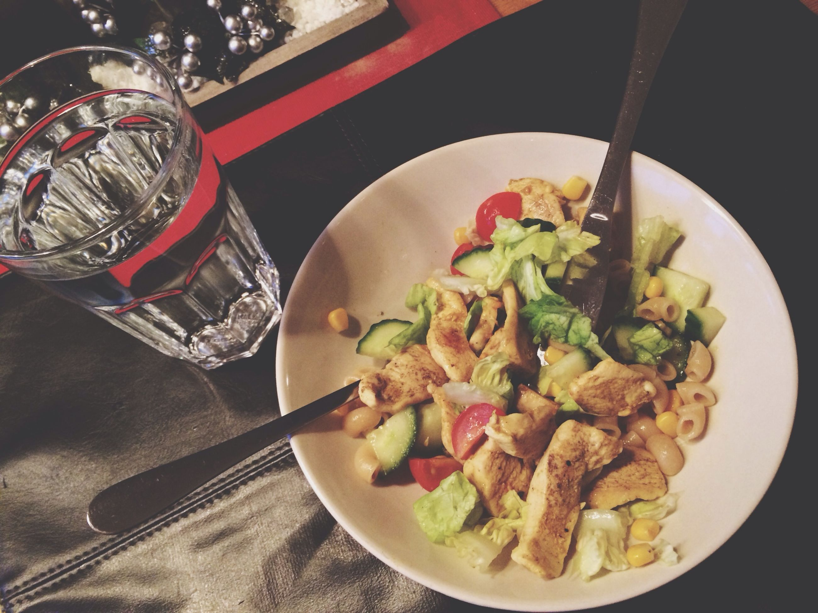 food and drink, food, indoors, freshness, table, ready-to-eat, plate, healthy eating, bowl, still life, serving size, meal, close-up, high angle view, part of, indulgence, spoon, person