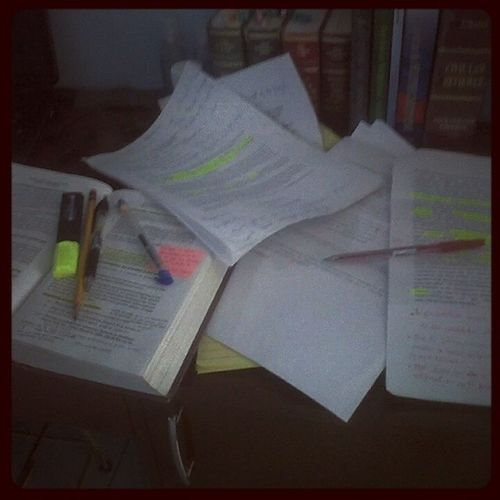 So, I need to do this again.. Midterms!!!!! Stresss!!! Playhard WORKHARD StudyLess SleepLessAgain