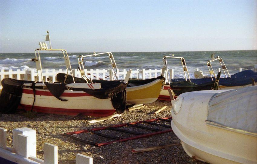 Liguria,Italy Vallecrosia Boats Film Photography Outdoors Sea Sky Water