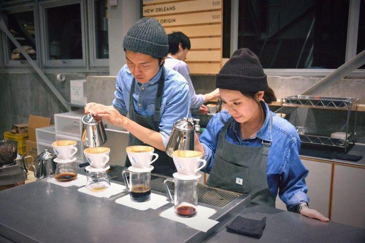 Drip Coffee Blue Bottle Coffee Nikon D7100 Break Time 匂いも美味しさ