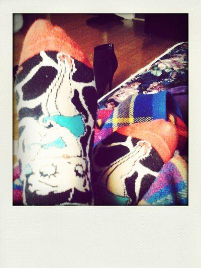 Loving new socks