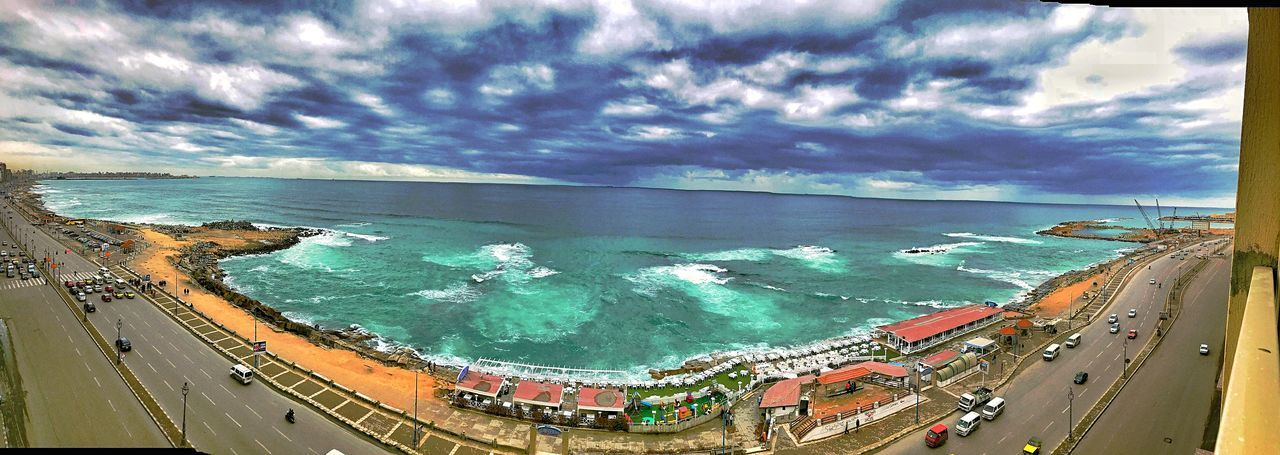 Natural Condition Cloudy Shot From Above  Love Nature Panorama Beauty In Nature Nature No People Winter Outdoors Sea