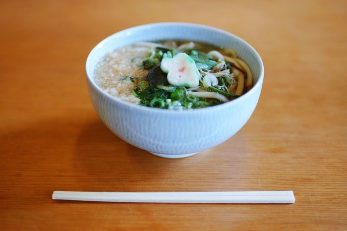 Bowl Food Freshness Ready-to-eat Food And Drink Serving Size Healthy Eating Table No People Wood - Material Indoors  Close-up Soup Day Noodles Japanese Food うどん
