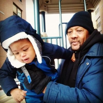 My old man Joseph and my youngin going man Liam Joseph
