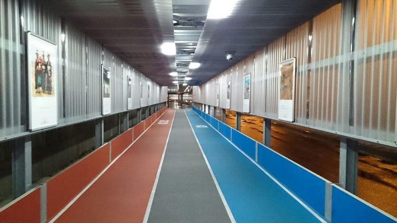 長い通路 Isle Long Long,aisle Wall The Wall Picture Frame It! Japan Tokyo,Japan NARITAAIRPORT