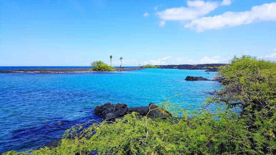 Lava rocks and lagoons Water Tranquility Scenics Sea Calm Beauty In Nature Kona Hawaii Landscape_photography Hawaii ❤✌ Hawaii Hawaii Life From My Point Of View Hawaiinei Landscape_Collection Hawaiishots Majestic Big Island Hawaii Big Island