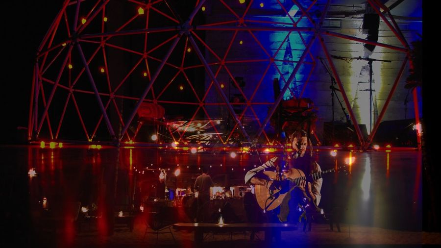 Universos Paralelos Architecture Arts Culture And Entertainment Brasil Estas Tonne Ferris Wheel Harbor Illuminated Men Neon Night Outdoors People Performing Arts Event Photography Reflection Show Sky