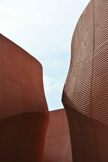 Expomilano2015 Unitedarabemirates Pavilion Dunes Curvedlines Architecture