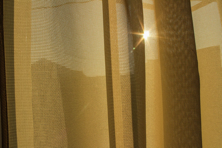 Abstract Abundance Backgrounds Blinds Close-up Curtain Day Design Full Frame Gold Gold Colored Indoors  Luxury No People Pattern Shiny Sunlight Textile Textured  Window Yellow