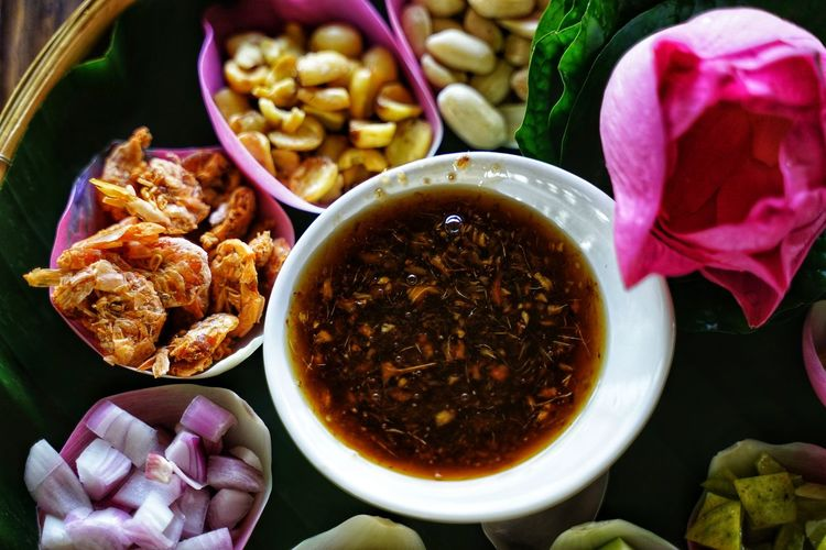 Thailand Thai Food Thai Testy No People No Person Day Flower Bowl Close-up Food And Drink Served Prepared Food Serving Size Ready-to-eat Shrimp Dish Plate