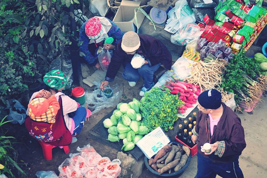 Local Market Asian Culture Morning Market North Of Thailand Traveling Urban Lifestyles Local Shops Shopping ♡ Product Hidden Gems  A Bird's Eye View People And Places ShareTheMeal