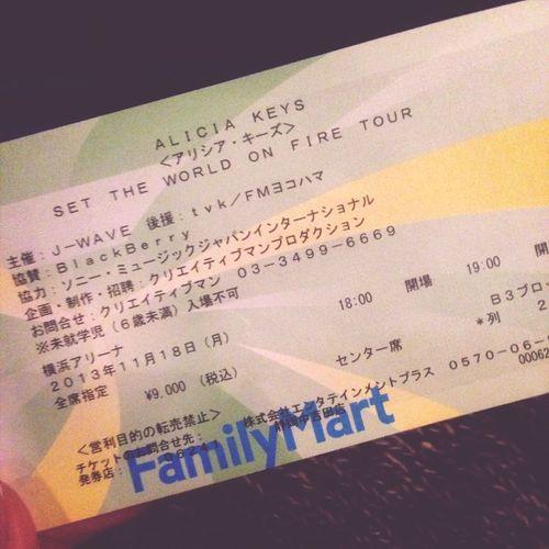 im ready!!!! Alicia Keys Live