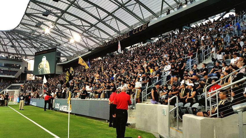 LAFC Lafc Crowd Stadium Fan - Enthusiast City Sport Match - Sport Men Spectator Competition