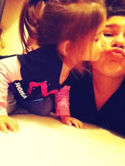 My Primaa Gave Me kisses ♡