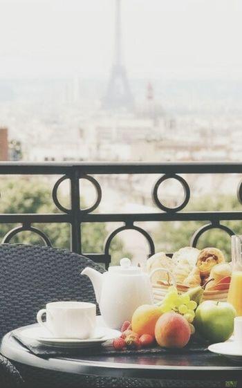 Breakfast Paris Nice Food Porn