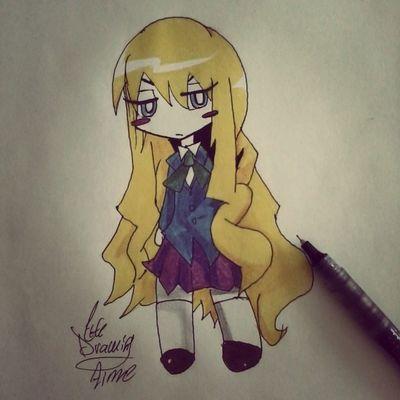 Anime Animecute Animegirl Drawanime drawing prismacolor