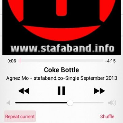 ??? try to hear ya @agnezmo Cokebottle