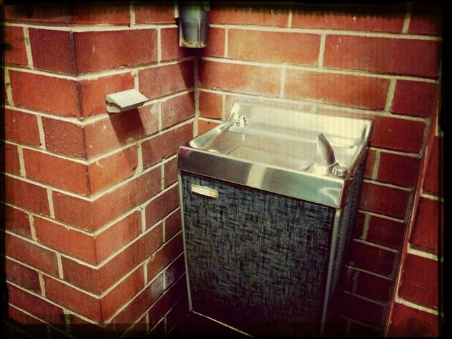 Water fountain from days past