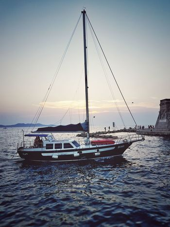 Sea Water Sunset Outdoors Landscape Travel Destinations No People Beauty In Nature Nature Yacht Sky Croatian Landscape Croatia_photography Croatia Fuji Tourism Beachphotography Journey Travel Photography Travel Sailing Ship Sailing Sailboat Samsung Galaxy S7 Samsung Photography